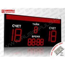 Табло для футбола Импульс-750-D50x4-D27x5-S16x256xP10