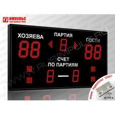 Табло для волейбола Импульс-713-D13x4-D10x3-S4-A2