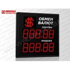 Символьное табло валют 5 разрядов Импульс-310-1x2xZ5-S11