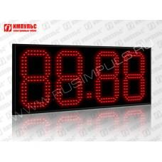 Табло цены топлива для АЗС Импульс-624-N14