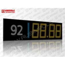 Табло для сетевых АЗС - БРЕНД Импульс-631-RN-ST20-92-P1 / Роснефть