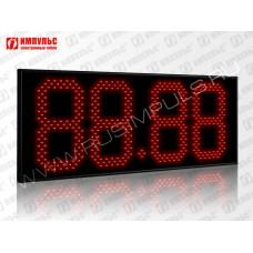 Табло цены топлива для АЗС Импульс-627-N16