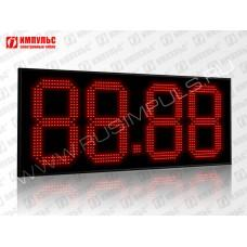 Табло цены топлива для АЗС Импульс-631-N32