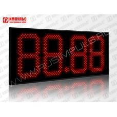 Табло цены топлива для АЗС Импульс-631-N19