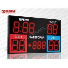 Табло для бокса Импульс-721-D21х9-D15x3-P1