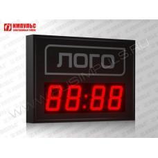 Часы c логотипом Импульс-410M-EURO | V
