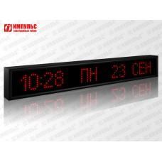 Часы-календарь Импульс-408K-S8x96