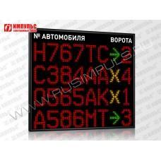 Табло для складских комплексов Импульс-900-L4xS16x96xP10