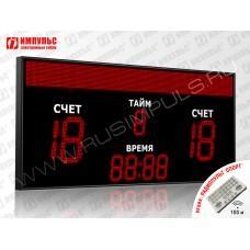 Табло для футбола Импульс-731-D31x4-D18x5-S16x192xP10