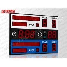 Табло для дзюдо Импульс-713-D13x9-L2xS6x64-L2xS6x32-S4