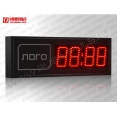 Часы c логотипом Импульс-410M | L