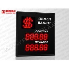Символьное табло валют 5 разрядов Импульс-306-1x2xZ5-S11