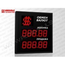 Символьное табло валют 5 разрядов Импульс-308-1x2xZ5-S11