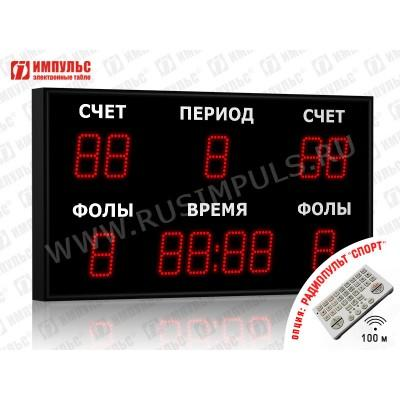 Табло спортивное универсальное Импульс-710-D10x11xN6