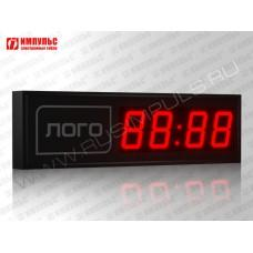 Часы c логотипом Импульс-410M-EURO | L