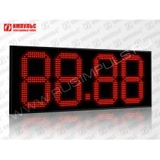 Табло цены топлива для АЗС Импульс-627-N29