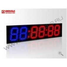 Табло для кроссфита Импульс-718-D18x6-RING1