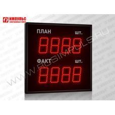 Табло производственных показателе Импульс-910-L2xD10x4