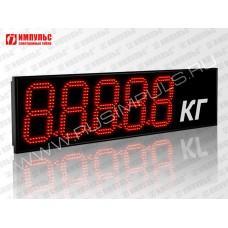 Табло для весовых систем Импульс-918-D18x5