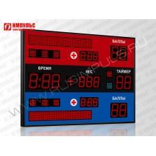 Табло для самбо Импульс-710-D10x9-D8x3-D6x6-L2xS6x64-S8-P1