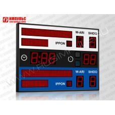 Табло для дзюдо Импульс-710-D10x9-L2xS6x64-L2xS6x32-S4