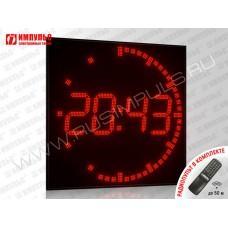 Часы c круговым ходом Импульс-490R-D24-T