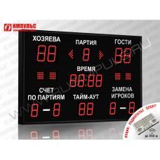 Табло для волейбола Импульс-710-D10x4-D8x11-S4-A2