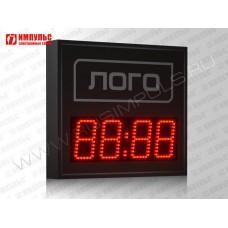Часы c логотипом Импульс-410M | V