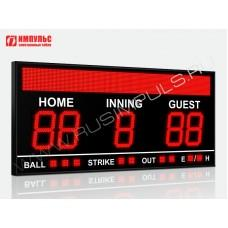Табло для бейсбола Импульс-727-D27x5-S16x160xP10-S9