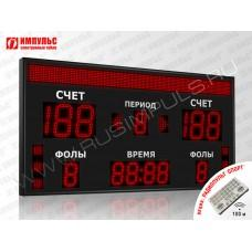 Табло для баскетбола Импульс-718-D18x6-D13x7-S8x128-S6-A2