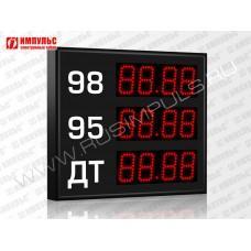 Прикассовые табло АЗС Импульс-608-3x1