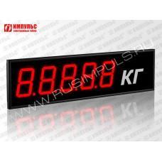 Табло для весовых систем Импульс-910-EURO-D10x5