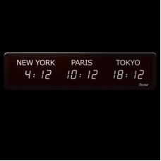 WORLD STYLE на 3 зоны BODET электронное табло мирового времени 947111 W3