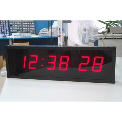 Цифровые часы с высотой знака 100 мм ЦПВ.6.100