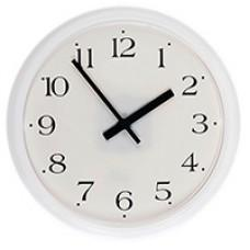 Часы стрелочные вторичные УЧС-250-Б (м)