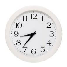 Часы стрелочные вторичные УЧС-300-FW (м)