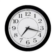 Часы стрелочные вторичные УЧС-300-K (м)