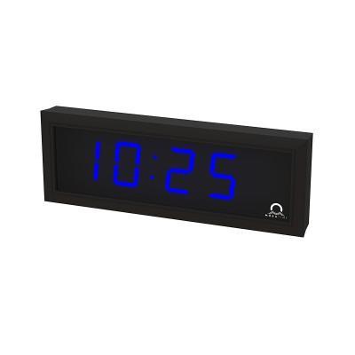Цифровые часы односторонние 4 разряда DC.57.4.B.N.N.BLACK