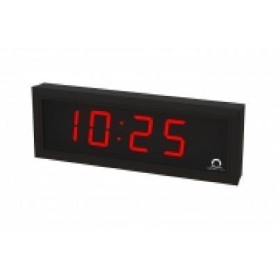 Цифровые часы односторонние 4 разряда DC.100.4.R.N.N.BLACK