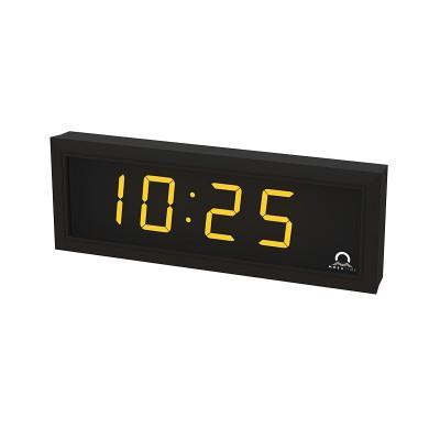 Цифровые часы односторонние 4 разряда DC.100.4.A.N.N.SILVER