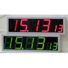 Вторичные цифровые часы Пояс-6