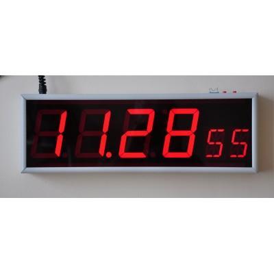 Вторичные цифровые часы Пояс-Д-NTP-PoE