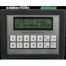 Часовая станция ЧС-1-02-2 SND /музыкальный бой/