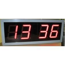Электронные часы-табло Кварц 1 (красн.инд.)