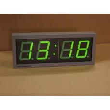 Электронные часы-табло Кварц 2 (зел. инд.)