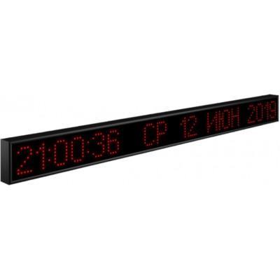 Вторичные электронные часы-календарь Импульс-412K-S12x128-ETN-NTP
