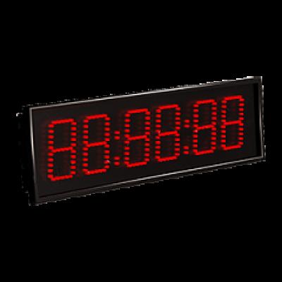 Электронные часы с NTP Импульс-408-HMS-ETN-NTP